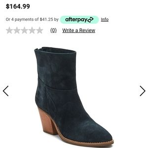 Matisse suede soho pointed toe ankle boot